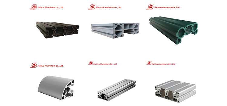 Jia Hua industrail profils en aluminium