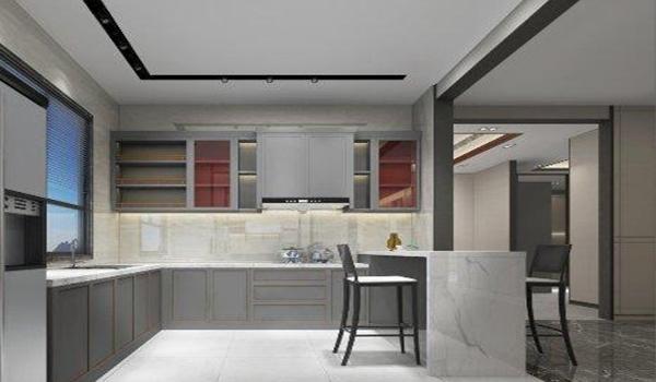 Profils en aluminium pour armoires de cuisine