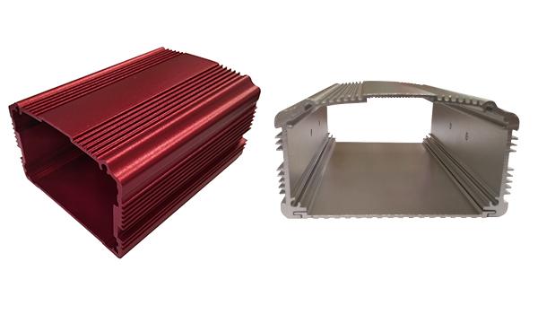Profils en aluminium pour boîte à circuit imprimé