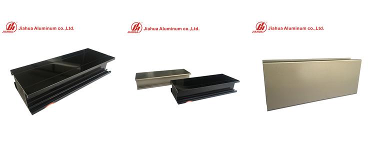 Profils d'électrophorèse en aluminium