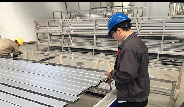 Duromètre Webster pour profilés en aluminium